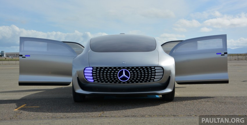 DRIVEN: Mercedes-Benz F 015 Luxury In Motion in SF Image #322148