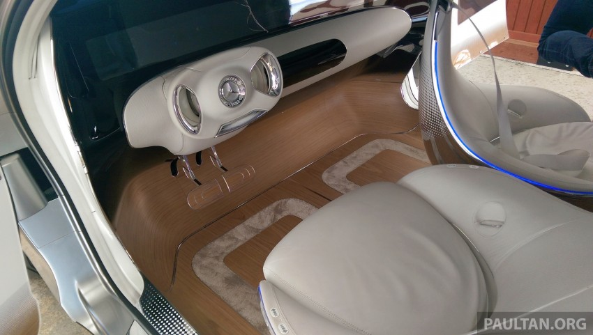 DRIVEN: Mercedes-Benz F 015 Luxury In Motion in SF Image #322093