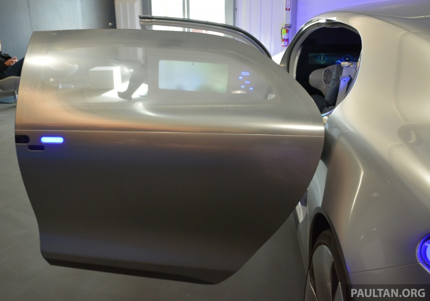 DRIVEN: Mercedes-Benz F 015 Luxury In Motion in SF Image #322090