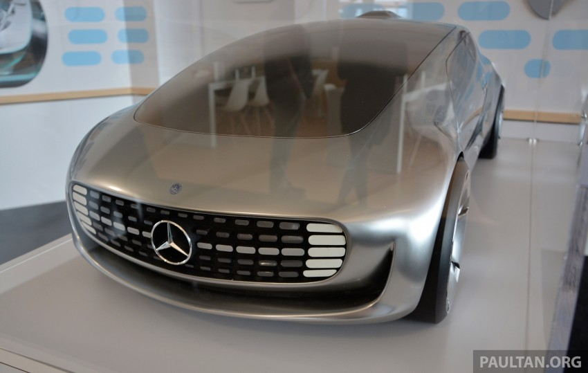DRIVEN: Mercedes-Benz F 015 Luxury In Motion in SF Image #322087