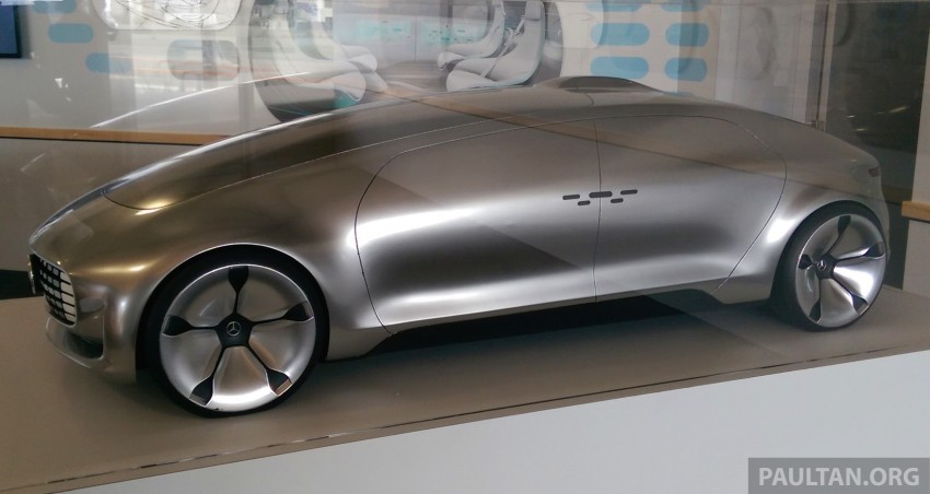 DRIVEN: Mercedes-Benz F 015 Luxury In Motion in SF Image #322086