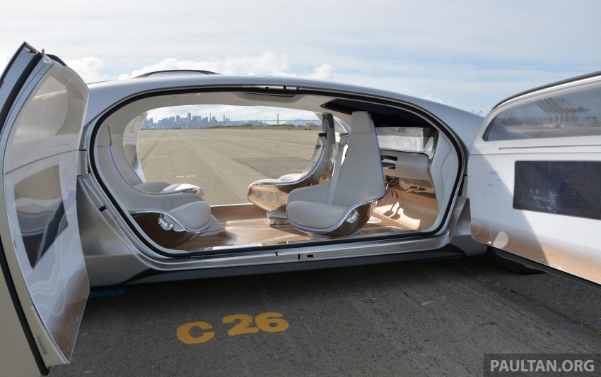 DRIVEN: Mercedes-Benz F 015 Luxury In Motion in SF Image #322145