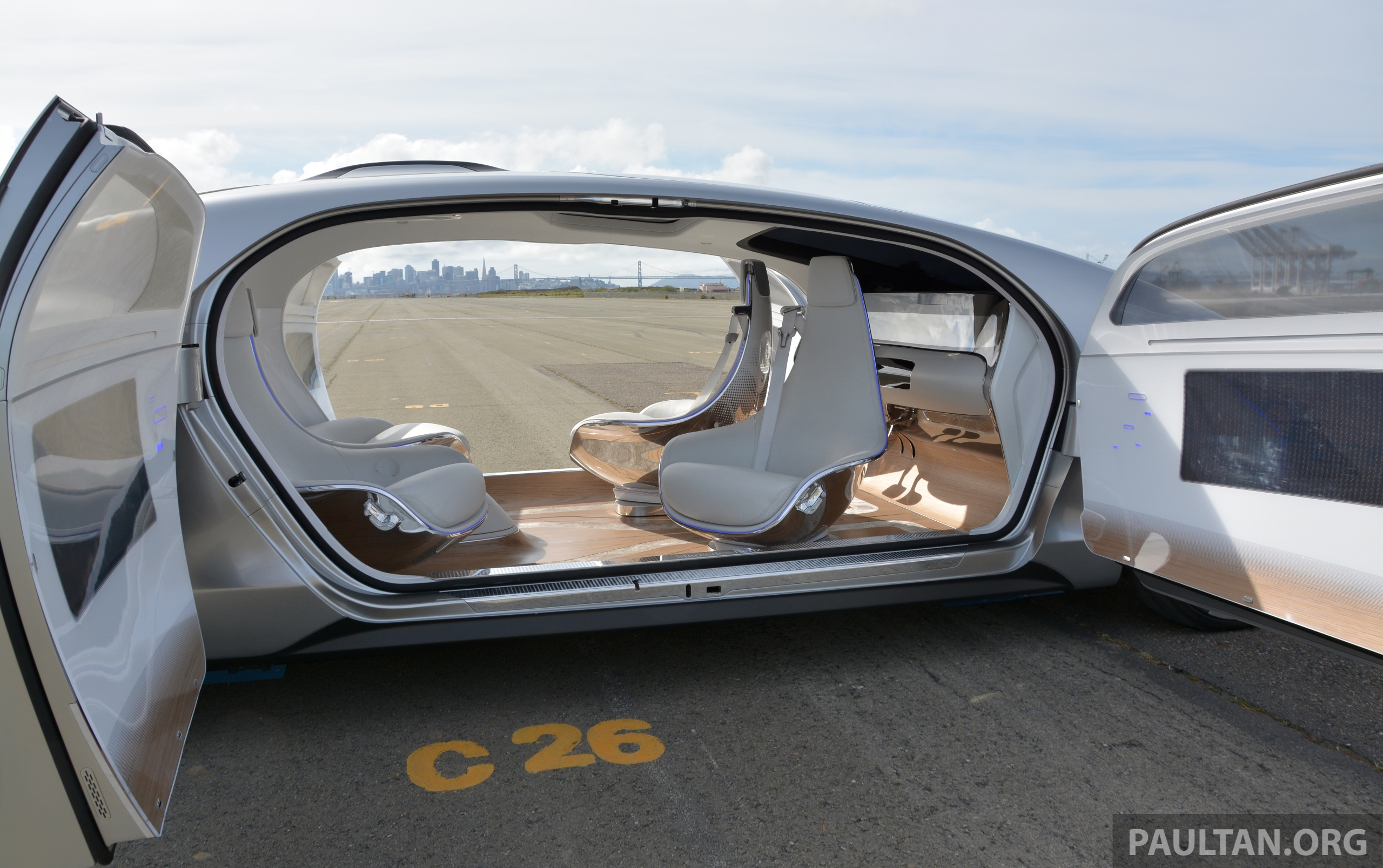 Mercedes Benz Of San Francisco >> DRIVEN: Mercedes-Benz F 015 Luxury In Motion in SF Paul ...