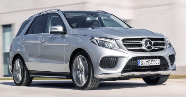 Mercedes Benz Gle 500e 4matic Plug In Hybrid Suv Launched Thailand Priced From Rm520k