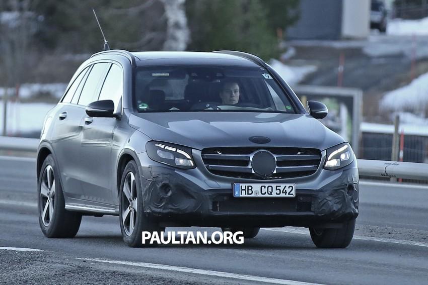 SPYSHOTS: Mercedes-Benz GLC-Class (formerly GLK) Image #319200