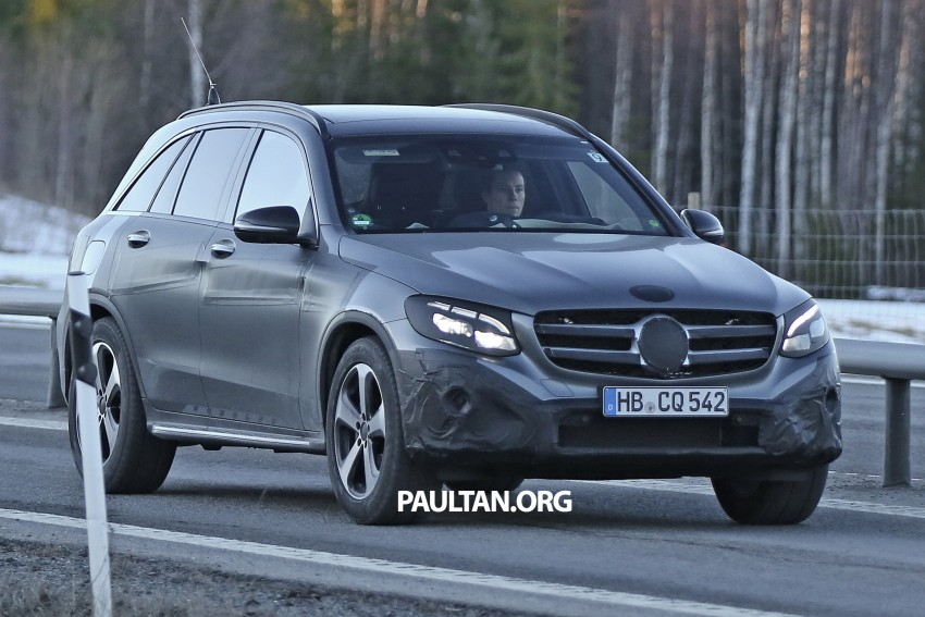 SPYSHOTS: Mercedes-Benz GLC-Class (formerly GLK) Image #319201