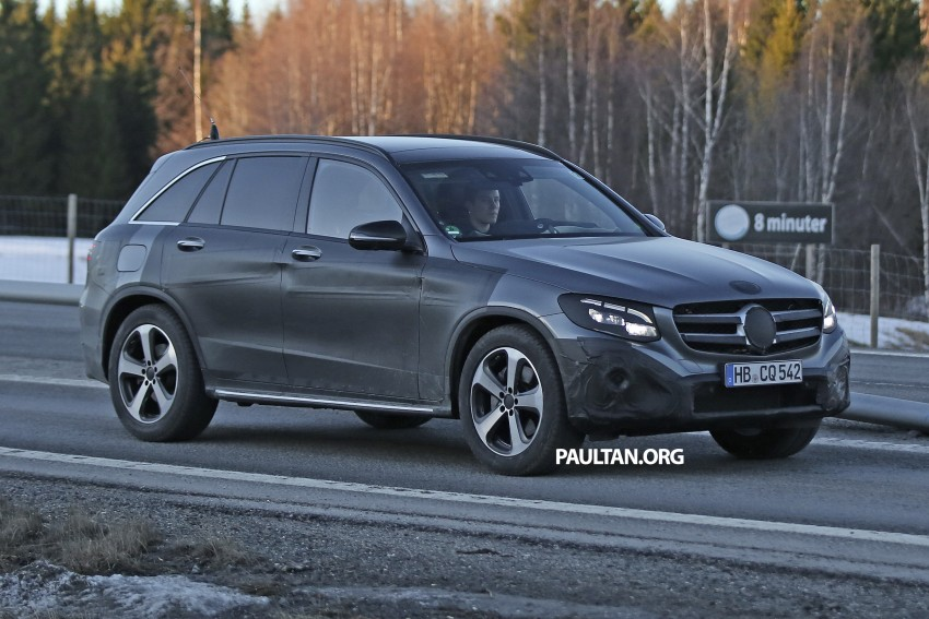 SPYSHOTS: Mercedes-Benz GLC-Class (formerly GLK) Image #319198