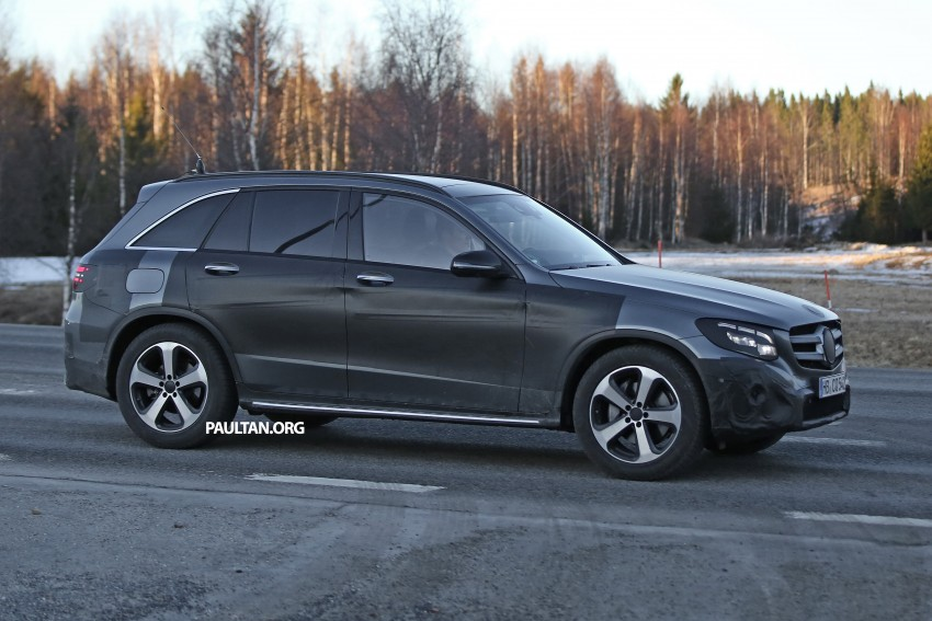 SPYSHOTS: Mercedes-Benz GLC-Class (formerly GLK) Image #319196