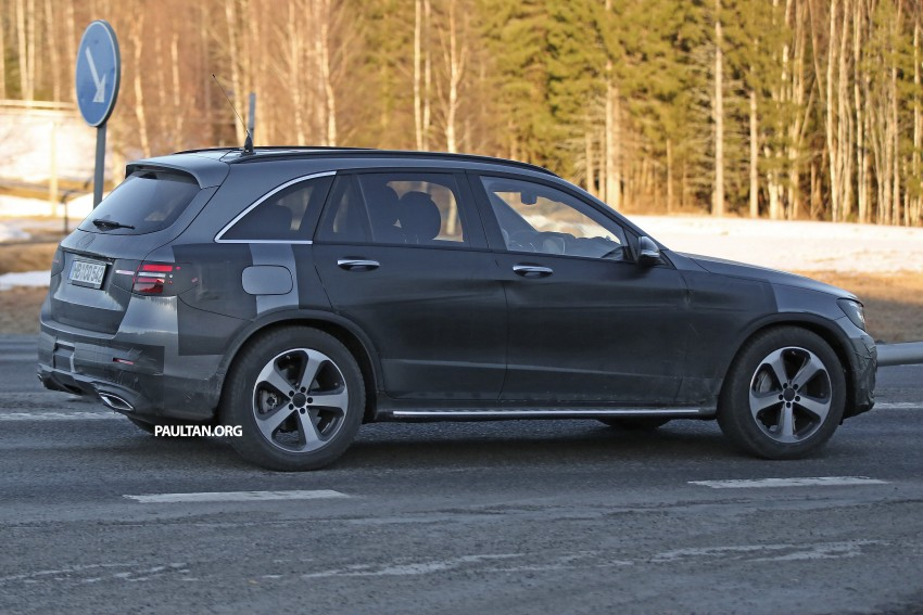 SPYSHOTS: Mercedes-Benz GLC-Class (formerly GLK) Image #319194