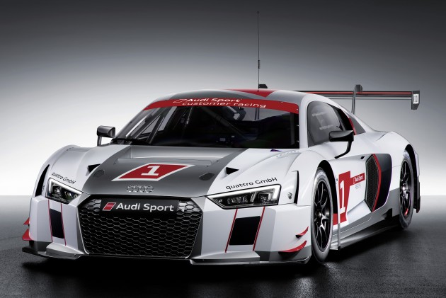 Having Revealed The R8 5.2 FSI V10, V10 Plus And E Tron Variants  Simultaneously At The 2015 Geneva Motor Show, Here Comes The New Audi ...