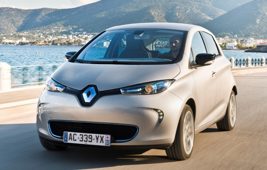 2015 Renault Zoe all-electric range extended to 240 km Image #316129