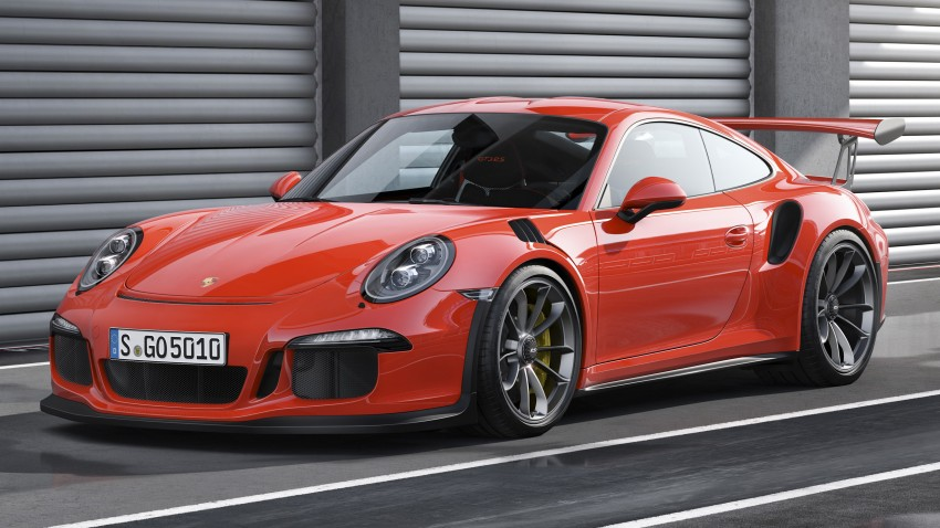 2016 Porsche 911 GT3 RS unveiled – 500 PS, PDK only Image #315956