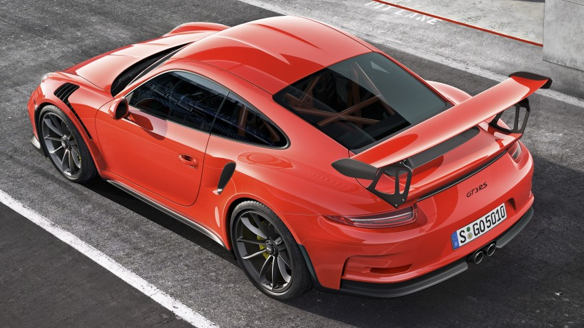 2016 Porsche 911 GT3 RS unveiled – 500 PS, PDK only Image #315957