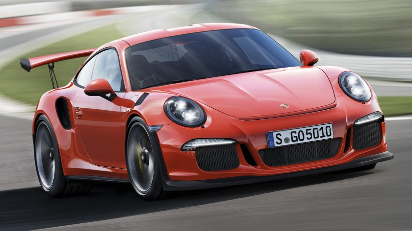 2016 Porsche 911 GT3 RS unveiled – 500 PS, PDK only Image #315958
