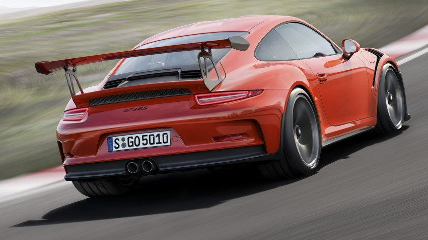 2016 Porsche 911 GT3 RS unveiled –500 PS, PDK only Image #315959