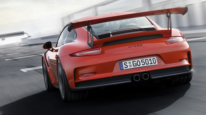 2016 Porsche 911 GT3 RS unveiled – 500 PS, PDK only Image #315960