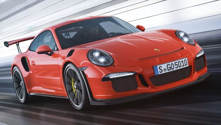 2016 Porsche 911 GT3 RS unveiled – 500 PS, PDK only Image #315961