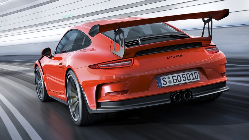 2016 Porsche 911 GT3 RS unveiled –500 PS, PDK only Image #315962