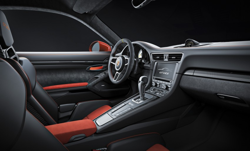 2016 Porsche 911 GT3 RS unveiled –500 PS, PDK only Image #315963