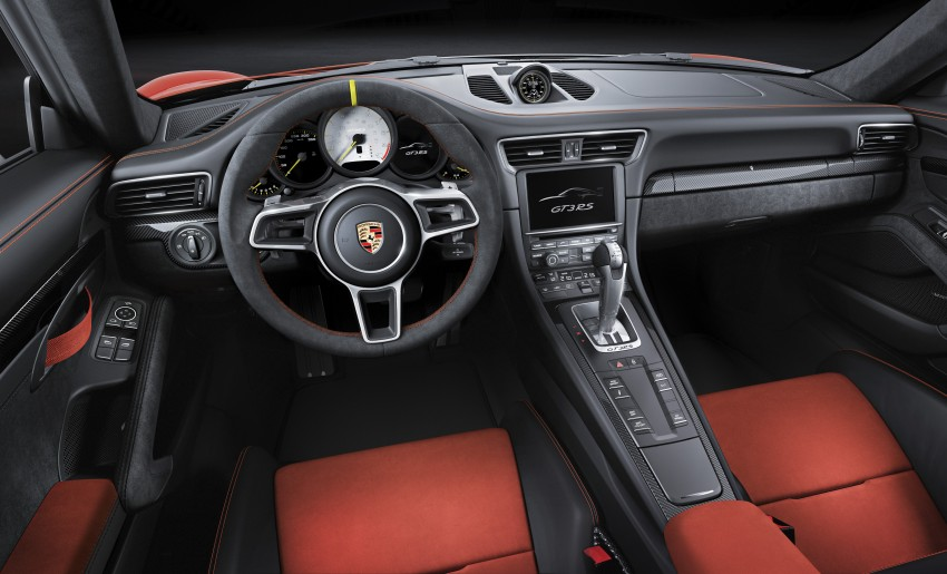 2016 Porsche 911 GT3 RS unveiled –500 PS, PDK only Image #315964