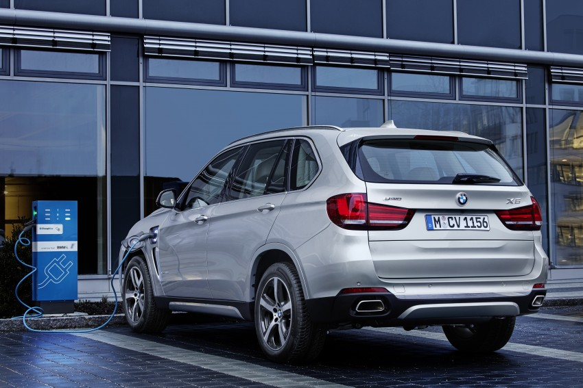 BMW X5 xDrive40e revealed – first non-i plug-in hybrid Image #318636