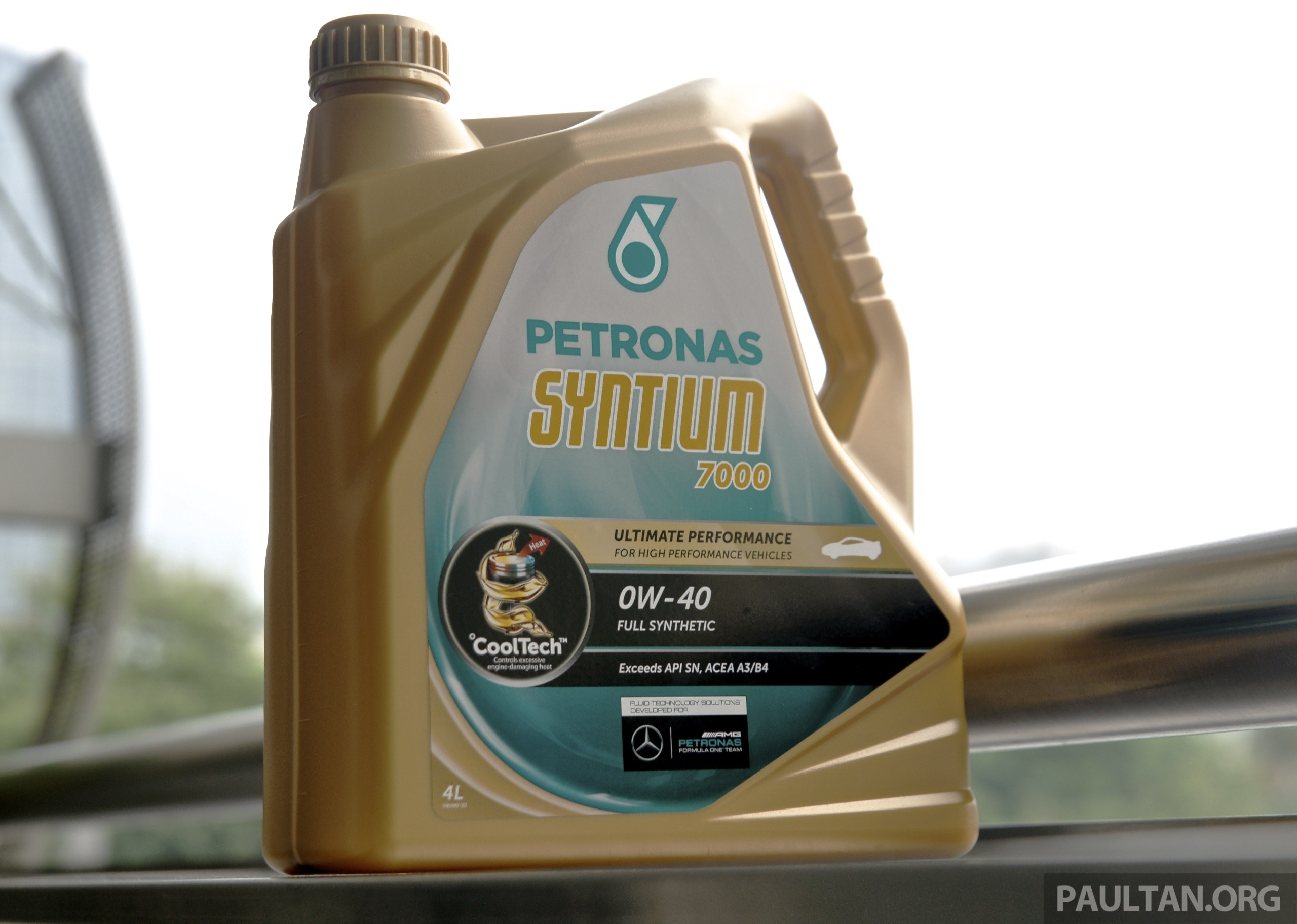Petronas Syntium with CoolTech unveiled in Malaysia