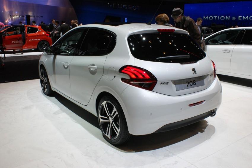 Peugeot 208 facelift shown in Geneva, in M'sia 2016 Image #316975