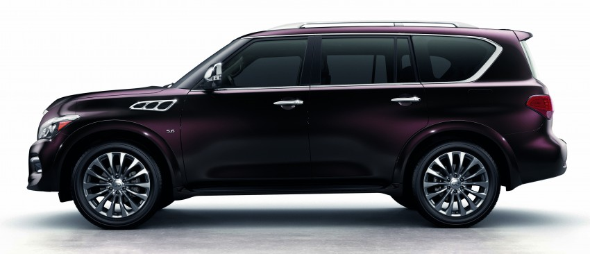 Infiniti QX80 officially launched in Malaysia – RM799k Image #319385