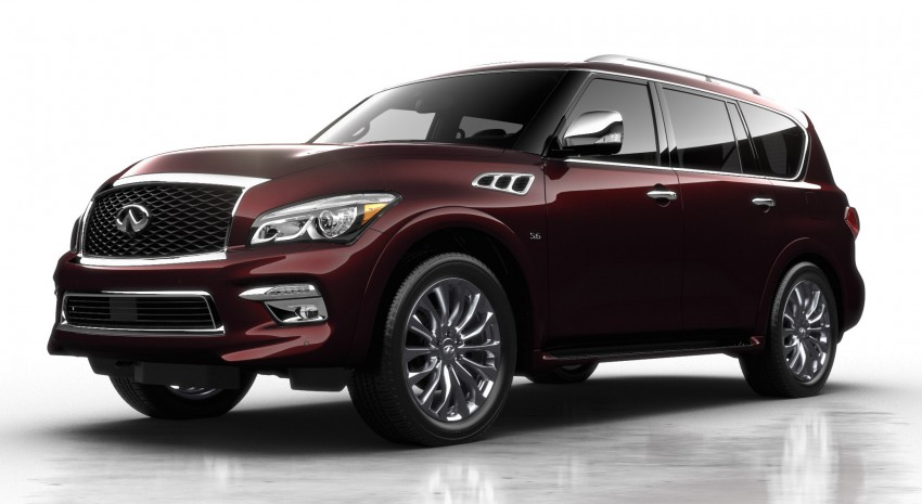 Infiniti QX80 officially launched in Malaysia – RM799k Image #319386