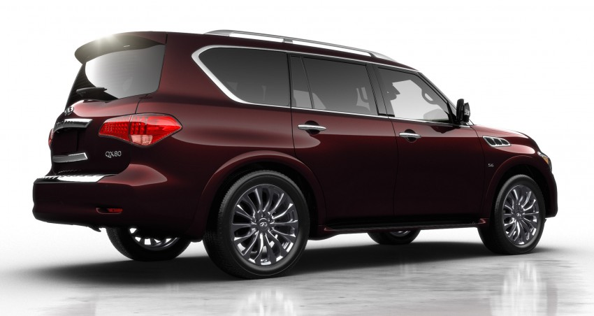 Infiniti QX80 officially launched in Malaysia – RM799k Image #319387