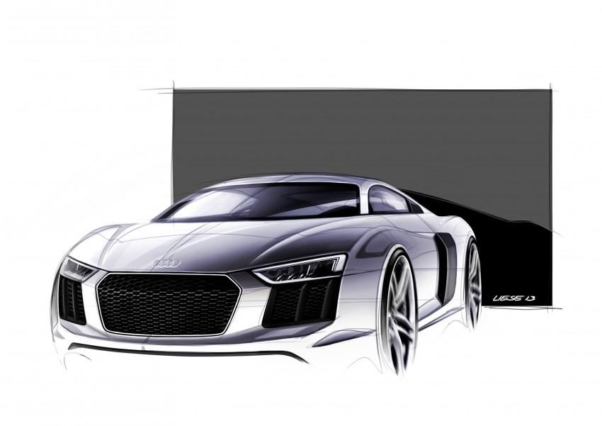 GALLERY: 2016 Audi R8 5.2 FSI V10 and R8 e-tron Image #315197