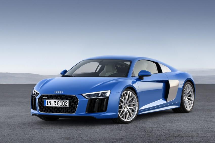 GALLERY: 2016 Audi R8 5.2 FSI V10 and R8 e-tron Image #315130