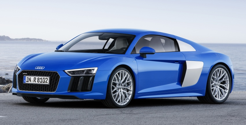 GALLERY: 2016 Audi R8 5.2 FSI V10 and R8 e-tron Image #315172