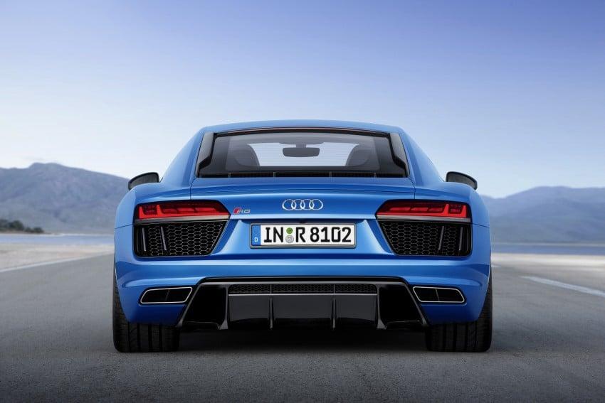 GALLERY: 2016 Audi R8 5.2 FSI V10 and R8 e-tron Image #315171
