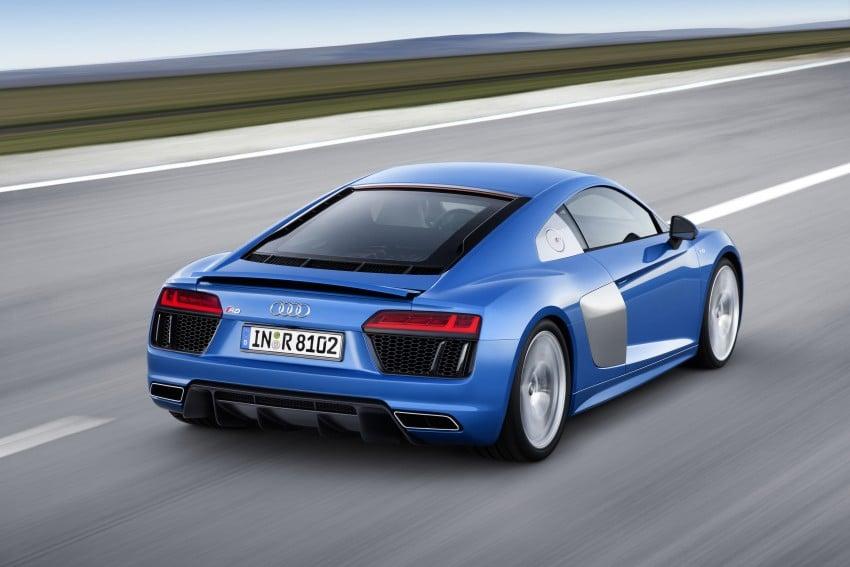 GALLERY: 2016 Audi R8 5.2 FSI V10 and R8 e-tron Image #315123
