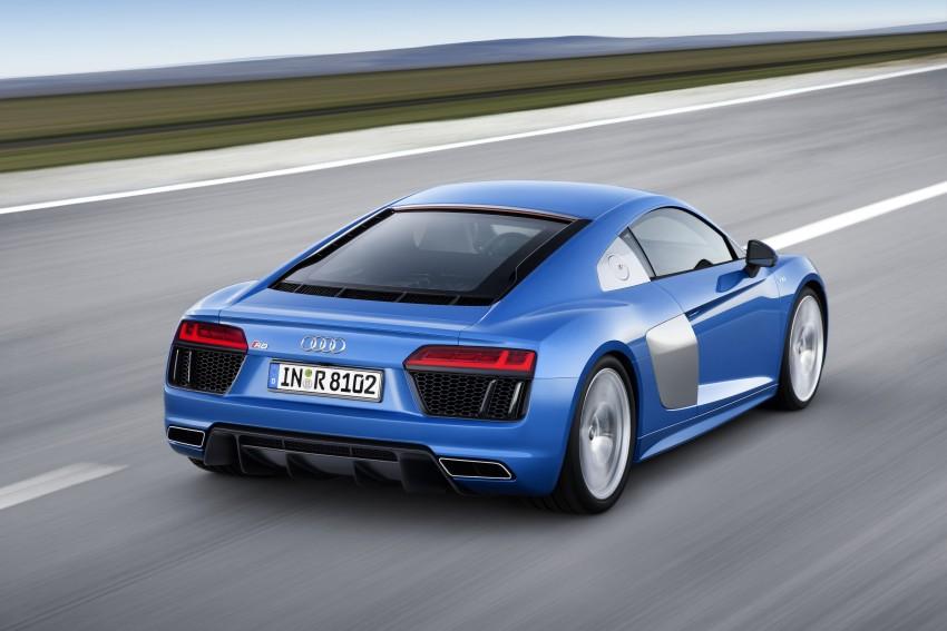GALLERY: 2016 Audi R8 5.2 FSI V10 and R8 e-tron Image #315168