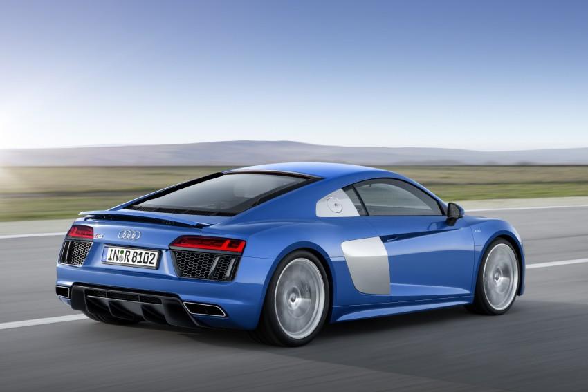 GALLERY: 2016 Audi R8 5.2 FSI V10 and R8 e-tron Image #315166