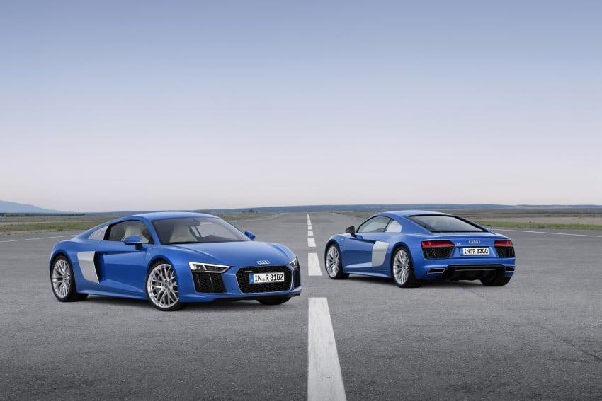 GALLERY: 2016 Audi R8 5.2 FSI V10 and R8 e-tron Image #315126