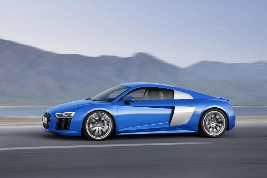 GALLERY: 2016 Audi R8 5.2 FSI V10 and R8 e-tron Image #315125
