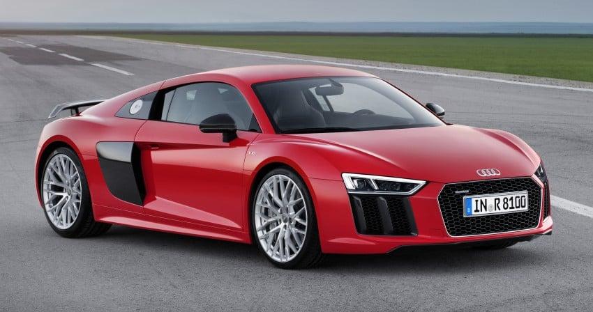 GALLERY: 2016 Audi R8 5.2 FSI V10 and R8 e-tron Image #315121