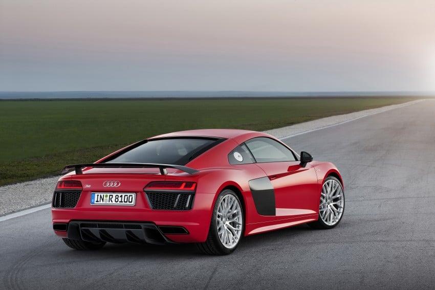 GALLERY: 2016 Audi R8 5.2 FSI V10 and R8 e-tron Image #315120