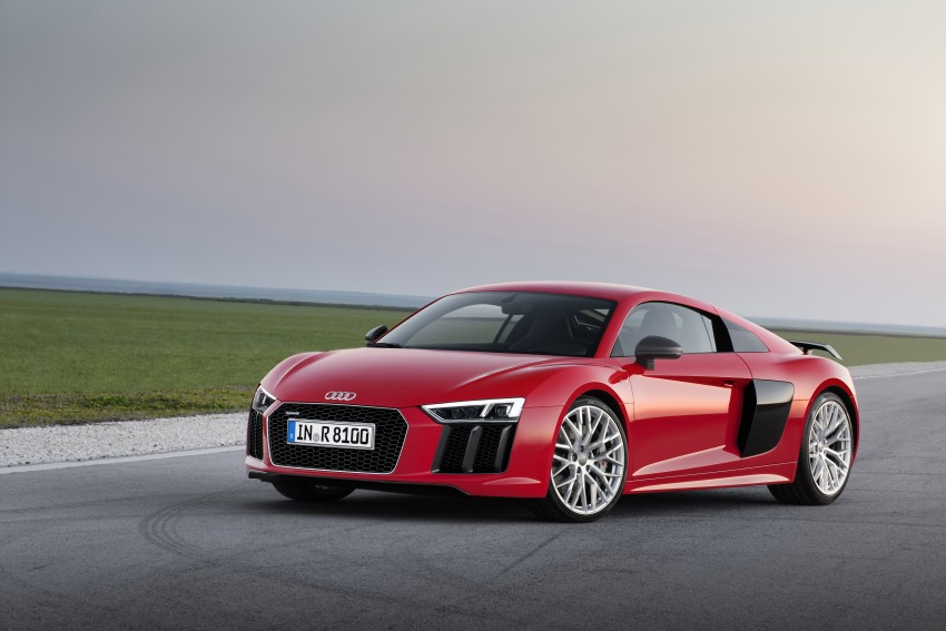 GALLERY: 2016 Audi R8 5.2 FSI V10 and R8 e-tron Image #315119