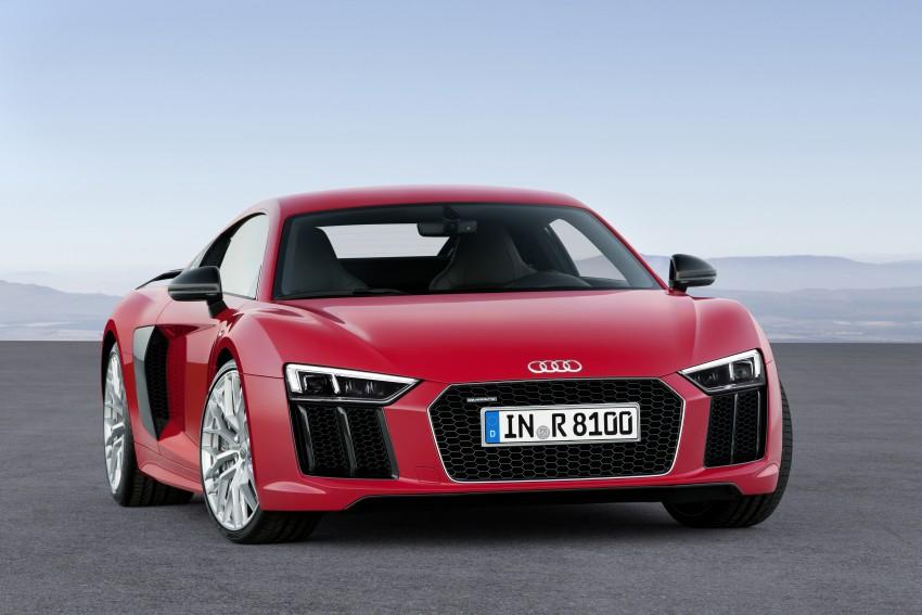 GALLERY: 2016 Audi R8 5.2 FSI V10 and R8 e-tron Image #315161