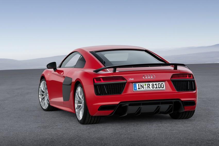 GALLERY: 2016 Audi R8 5.2 FSI V10 and R8 e-tron Image #315160