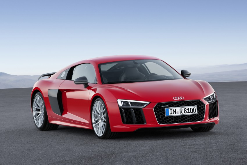 GALLERY: 2016 Audi R8 5.2 FSI V10 and R8 e-tron Image #315118