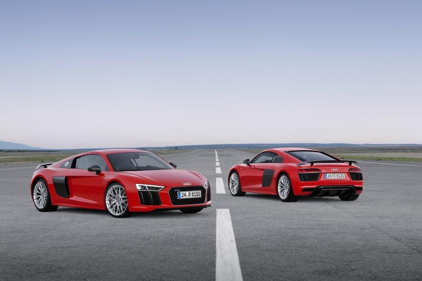 GALLERY: 2016 Audi R8 5.2 FSI V10 and R8 e-tron Image #315116