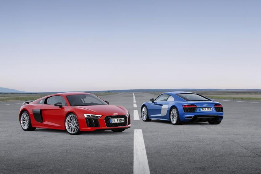 GALLERY: 2016 Audi R8 5.2 FSI V10 and R8 e-tron Image #315113