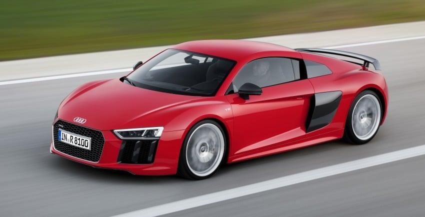 GALLERY: 2016 Audi R8 5.2 FSI V10 and R8 e-tron Image #315157