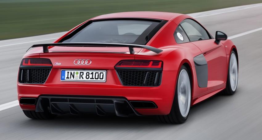 GALLERY: 2016 Audi R8 5.2 FSI V10 and R8 e-tron Image #315156