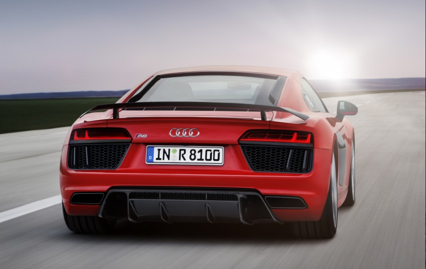 GALLERY: 2016 Audi R8 5.2 FSI V10 and R8 e-tron Image #315153